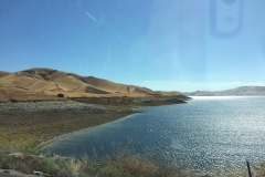 12. En route to LA - super low reservoir