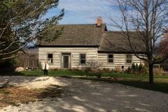 Period house on Elijah Wilcox's property