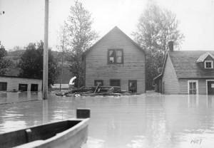 Ross flats flood