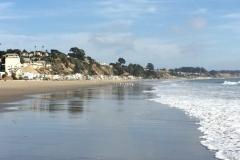 11a. Our beach at Santa Cruz