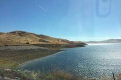 12. En route to LA - super low reservoir