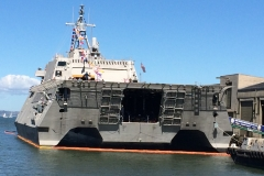 6. Fleet Day - super-modern warship